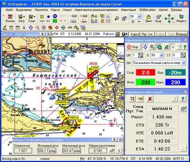 Индексная Карта Ozi
