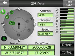 iGO GPS карта